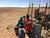 UNMAS and ASAVIM, Asociación Saharawi de Victimas de Minas, visiting a landmine victim in a Sahrawi camp close to Tindouf, Algeria. Photo: UNMAS
